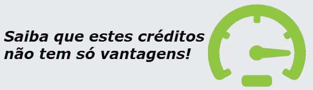 desvantagens no crédito rápido