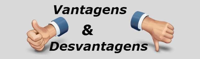 Resultado de imagem para vantagens e desvantagens
