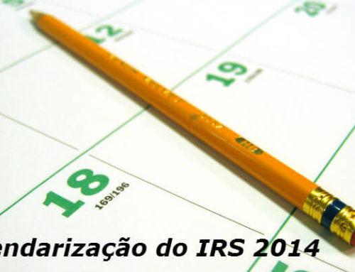 Prazos de Entrega e Reembolso do IRS em 2014
