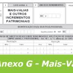 Como Preeencher o Anexo G do IRS sem Erros?