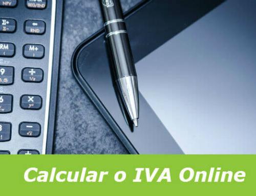 Como calcular o IVA a pagar ao estado Português