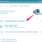 e-balcão – Dúvidas Online Sobre o Portal das Finanças