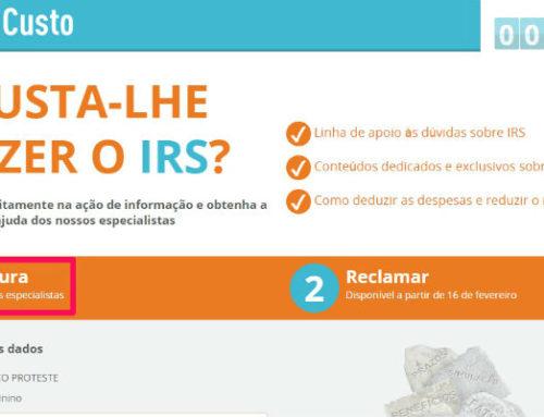 IRS Sem Custo: Ajuda para validar faturas no e-fatura