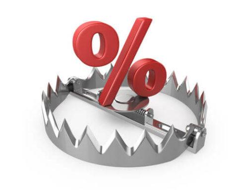 Cuidado com as taxas do crédito pessoal