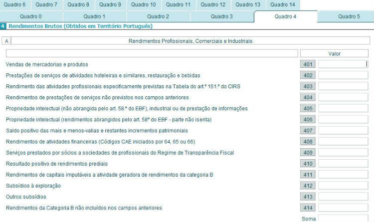 Anexo - B - Quadro 4A
