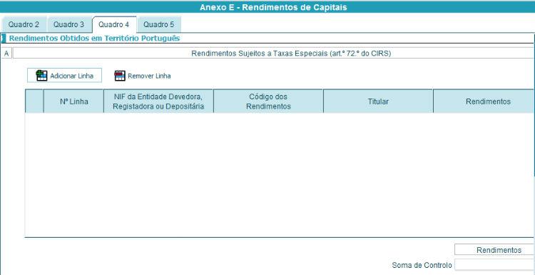 Anexo E - Quadro 4A