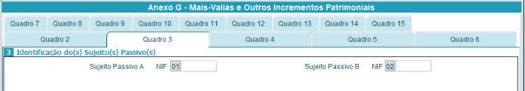Anexo G - Quadro 3