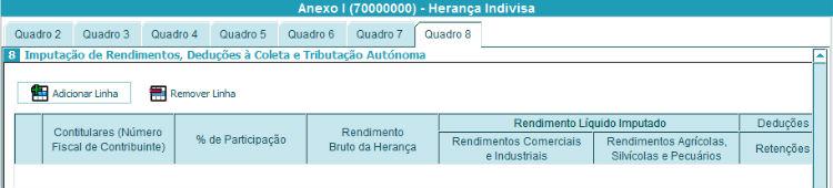 Anexo I - Quadro 8A