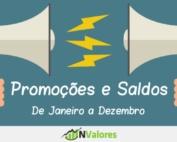 Promoções e Saldos