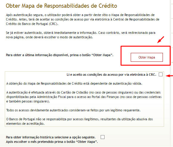 mapa do banco de portugal Obter mapa de responsabilidades de crédito do banco de portugal mapa do banco de portugal