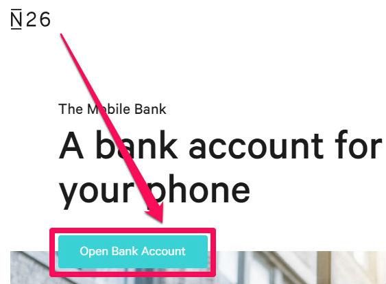 abrir conta bancária no banco n26