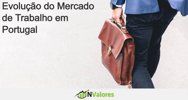 Evolução do mercado de trabalho em portugal