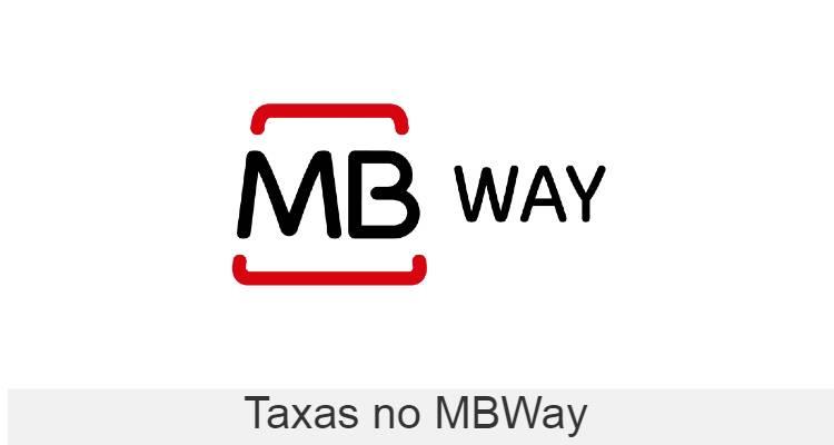 Quais são as taxas no mbway?